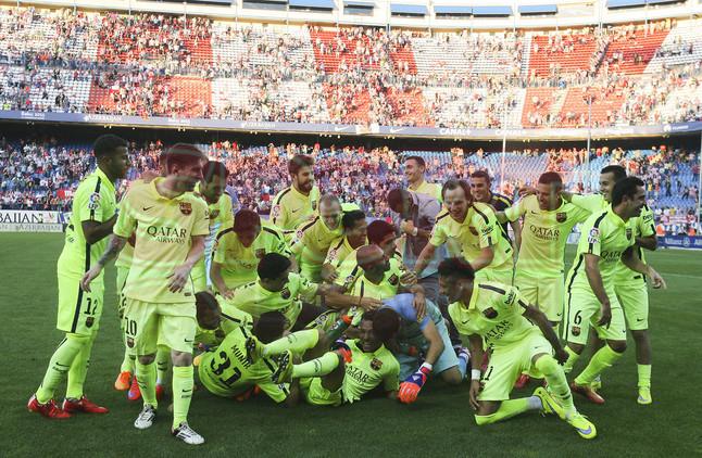 ATLETICO DE MADRID - FC BARCELONA . FOTO: © Valenti Enrich