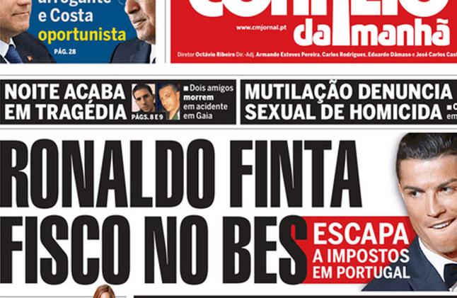 cristiano-ronaldo-portada-del-correo-manha-1432119090086
