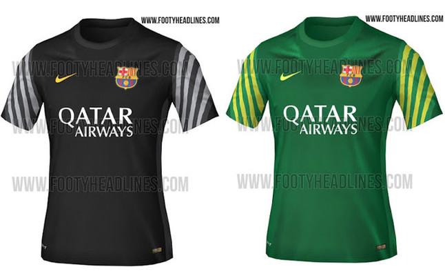 Los porteros del FC Barcelona también lucirán la senyera 87e4e65a9e3